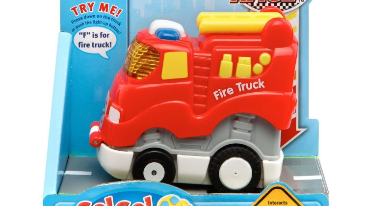 Giveaway – @Vtechtoys's Go! Go! Smart Wheels® Press & Race™ Fire Truck!