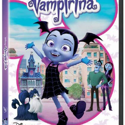 Disney Junior's Vampirina DVD Out Today! With Printables, A Video & A Giveaway! @DisneyJunior #Vampirina