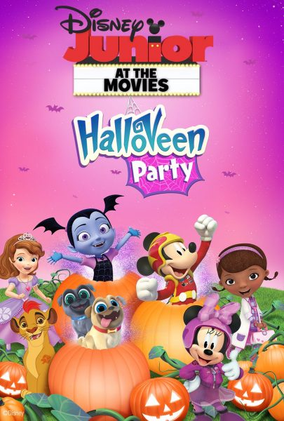 Disney Junior HalloVeen Party Family-Four Packs of Tickets