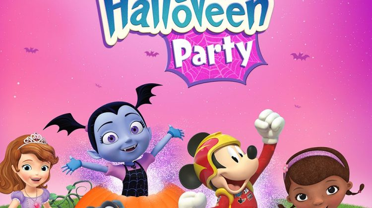 Giveaway – Disney Junior HalloVeen Party Family-Four Packs of Tickets, Three Winners!