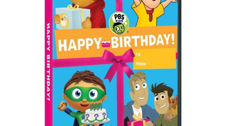 Giveaway – @PBSKids: Happy Birthday DVD!