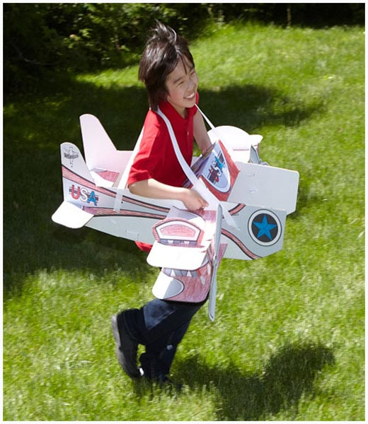 Airplane Birthday Party Get Ready For Takeoff: DIY Halloween Wearables Costume, Stunt Plane