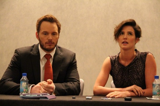 chris and cobie interview pic