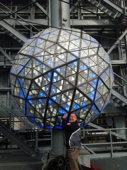 New Years Eve Ball Being Held By Me!