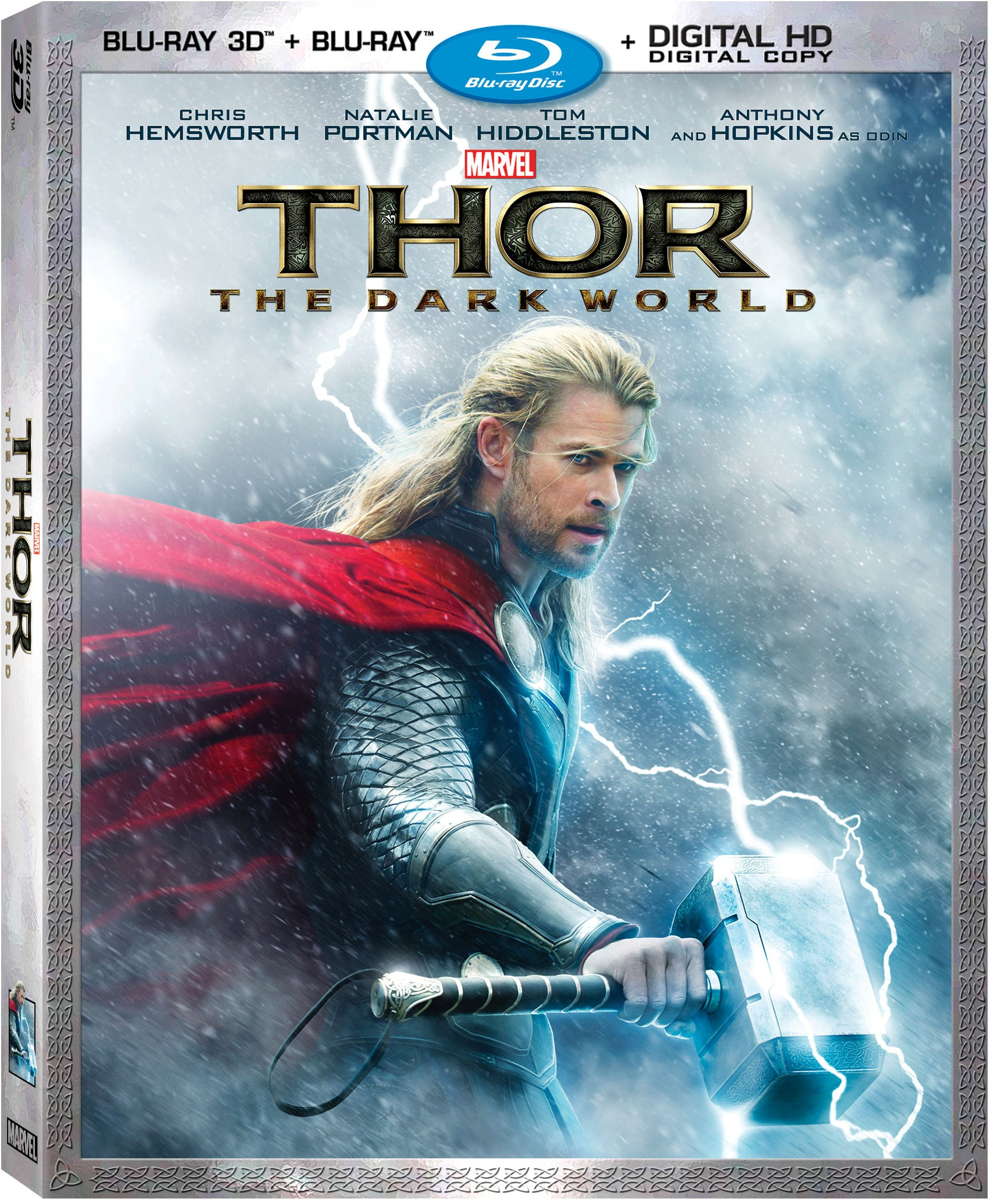marvel's thor: the dark world comes to blu-ray and dvd this tuesday