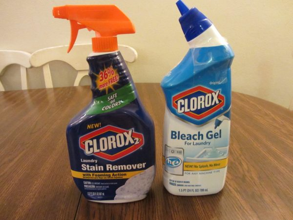 Clorox, Clorox Stain Remover, Clorox Bleach Gel