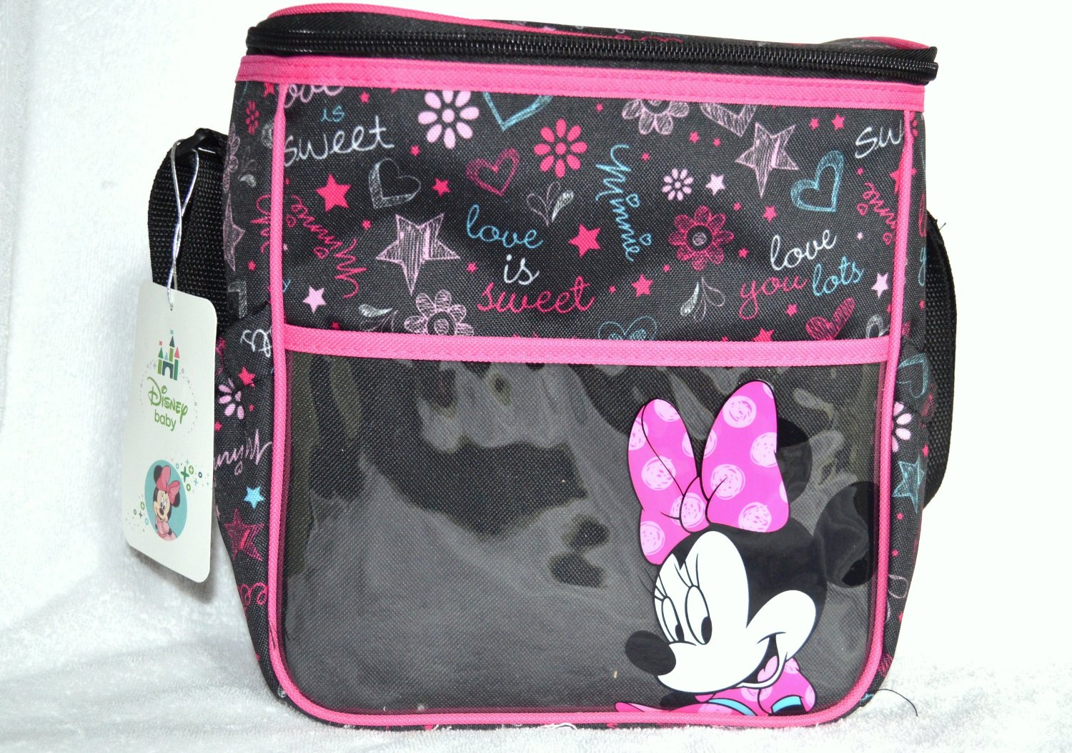 Giveaway - Minnie Mouse Insulated Diaper Bag!  DisneyBaby ... bec13f792f1e8