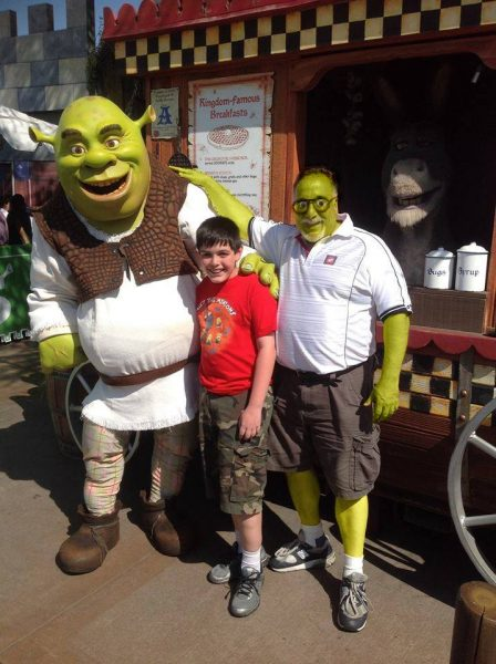 shrek and me!
