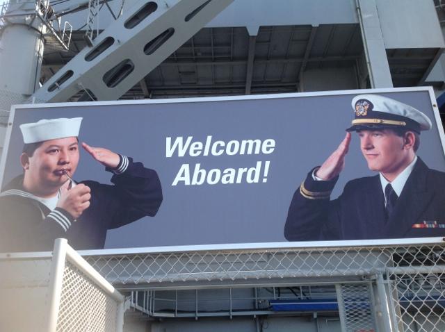 """""""USS Midway, San Diego"""""""