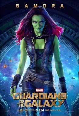 guardians of the galaxy, guardians, Zoe Saldana, Gamora