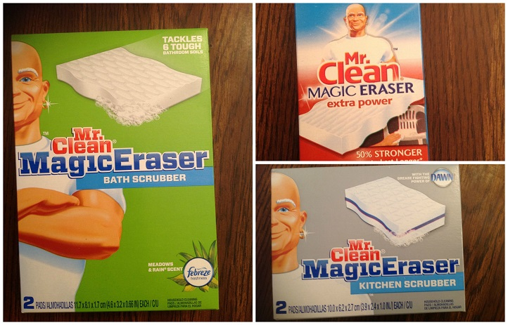 Mr Clean Magic Eraser Works On Almost Everything