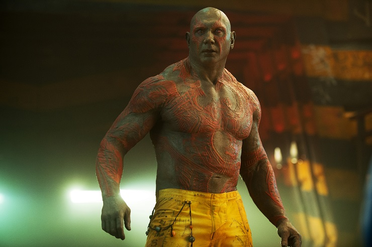 Guardians of the Galaxy, Dave Bautista