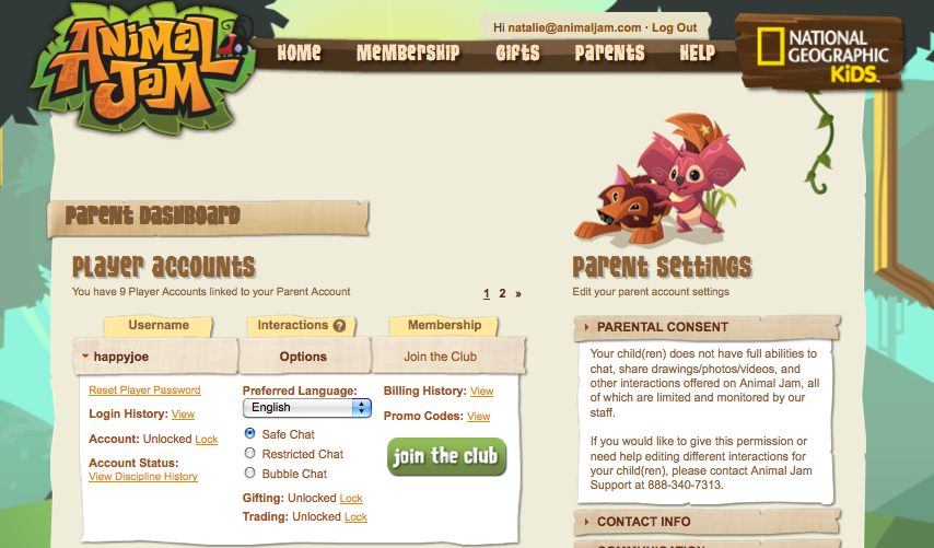 Animal Jam Review & Giveaway: 1 Year Free Membership with