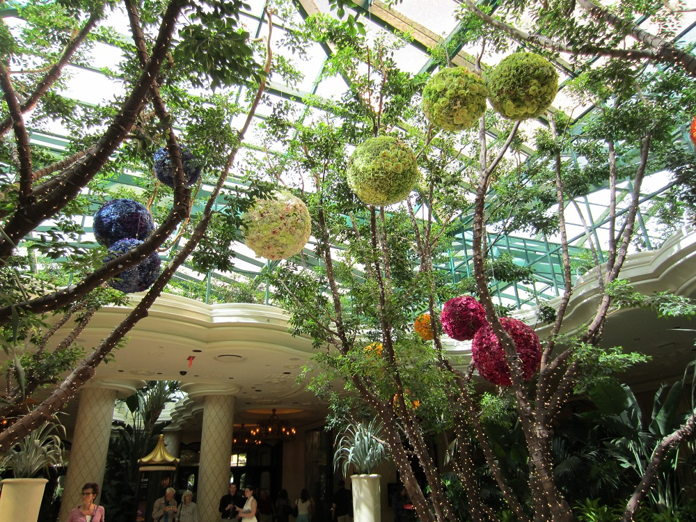 Gorgeous! Flower Balls To Remind Us That Spring Is Around The Corner! w/Linky! @Bellagio @Vegas #travel