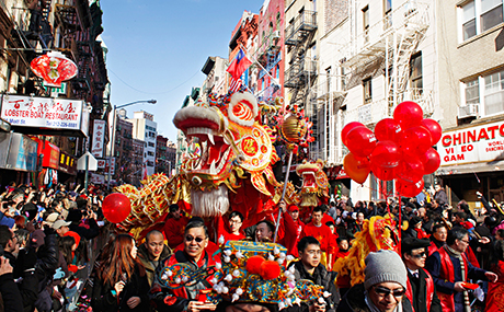 """lunar new year in New York City"""