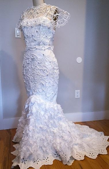 Toilet Paper Wedding Dress Contest Charmin