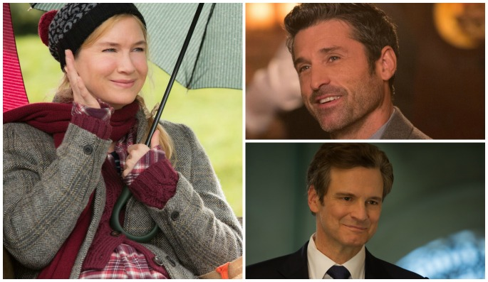 """Bridget Jones Baby, Renee Zellweger, Patrick Dempsey, Colin Firth"""