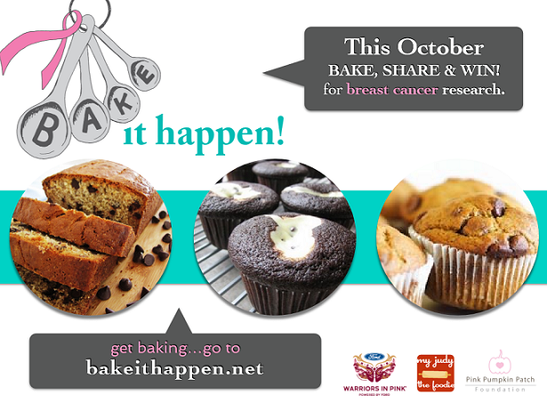 """Bake It Happen To Fight Breast Cancer!"""