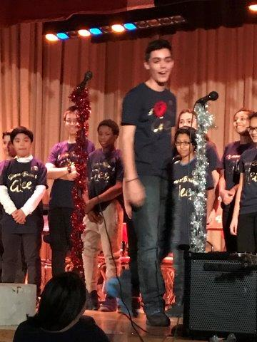 Winter Concert Beat Boxing By Paul!