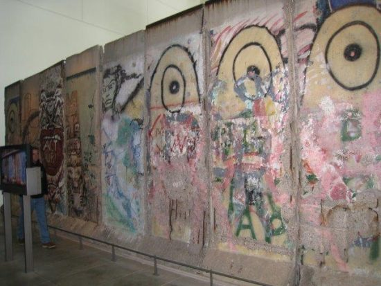 """The Berlin Wall Stands at the Newseum in Washington, DC"""