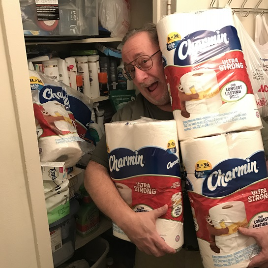 """""""New Year's Resolution Check-In Time With Charmin"""""""