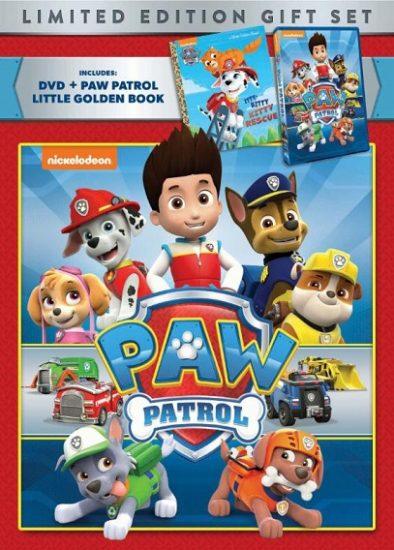 Paw Patrol DVD Gift Set!