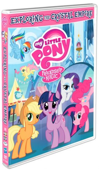 My Little Pony Friendship Is Magic: Exploring the Crystal Empire DVD!