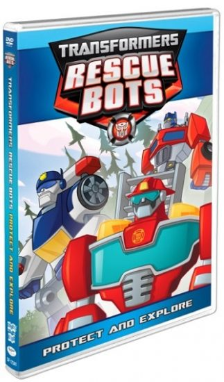 Transformers Rescue Bots: Protect and Explore DVD
