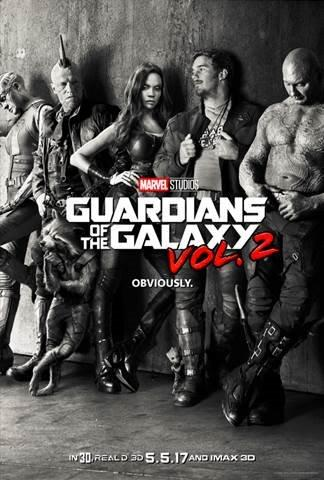 """""""The 2017 Schedule from Walt Disney Studios Motion Pictures, Guardians of the Galaxy Vol. 2"""""""