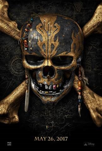 """""""The 2017 Schedule from Walt Disney Studios Motion Pictures, PIRATES OF THE CARIBBEAN: DEAD MEN TELL NO TALES"""""""