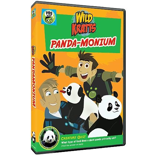 WILD KRATTS: PANDA-MONIUM DVD from @PBSKids!