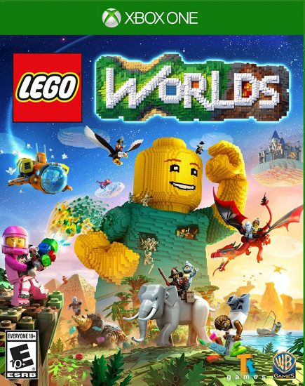 """New """"LEGO Worlds"""" for the Xbox One! @LEGOWorldsGame"""