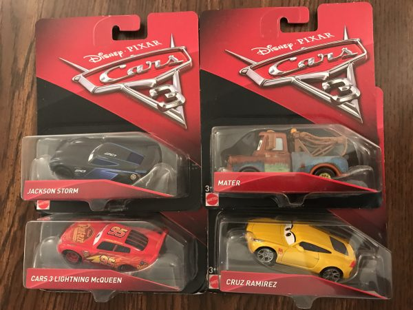 """""""Giveaway - Four Collectible Cars To Celebrate Cars 3!"""""""