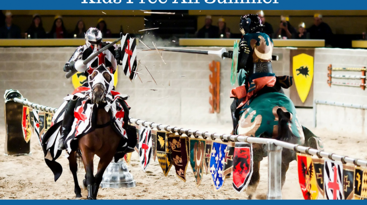 Medieval Times Dinner & Tournament! Free For Kids All Summer! @MedievalTimes #newjersey #newyork #travel #ad