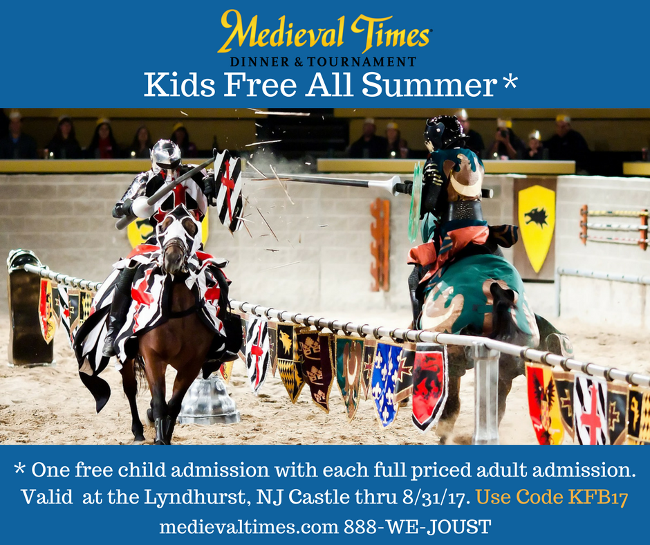 Medieval Times Dinner & Tournament! Free For Kids All Summer!