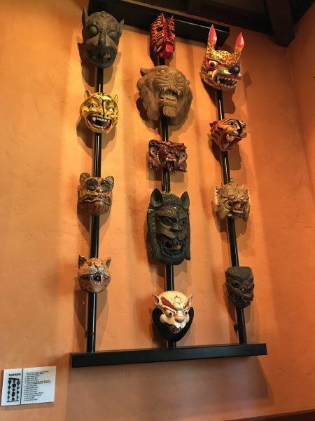 Tiffins Restaurant in Animal Kingdom is Also A Museum!