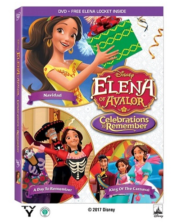 """""""Elena of Avalor: Celebrations to Remember DVD Out Today!"""""""