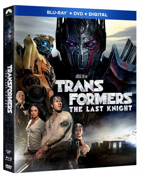 """""""TRANSFORMERS: THE LAST KNIGHT Blu-ray Combo Pack!"""""""