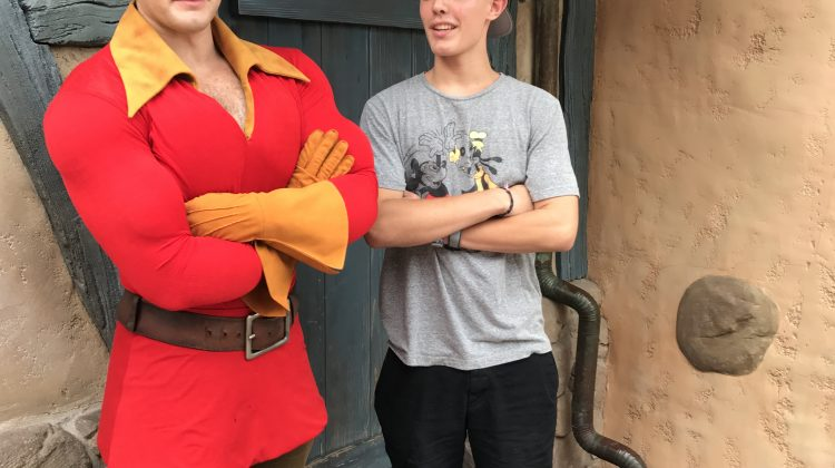 Hilarious Videos of Us From @WaltDisneyWorld! w/Linky! #travel #Gaston #Groot #Moana #SevenDwarves