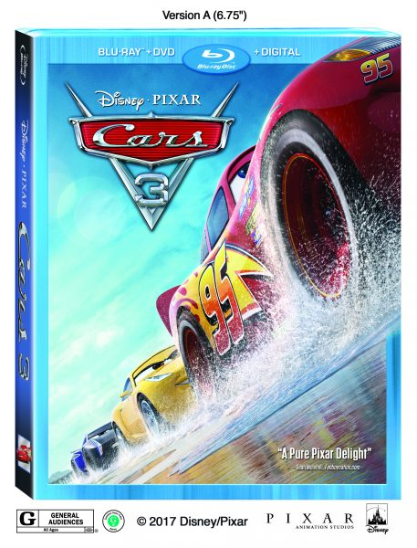"Lightning Strikes Again When Disney•Pixar's ""Cars 3"" Cruises Home Digitally in HD and 4K Ultra HD™ on Oct. 24 and Blu-ray 4K Ultra HD™ & Blu-ray™ on Nov. 7!"