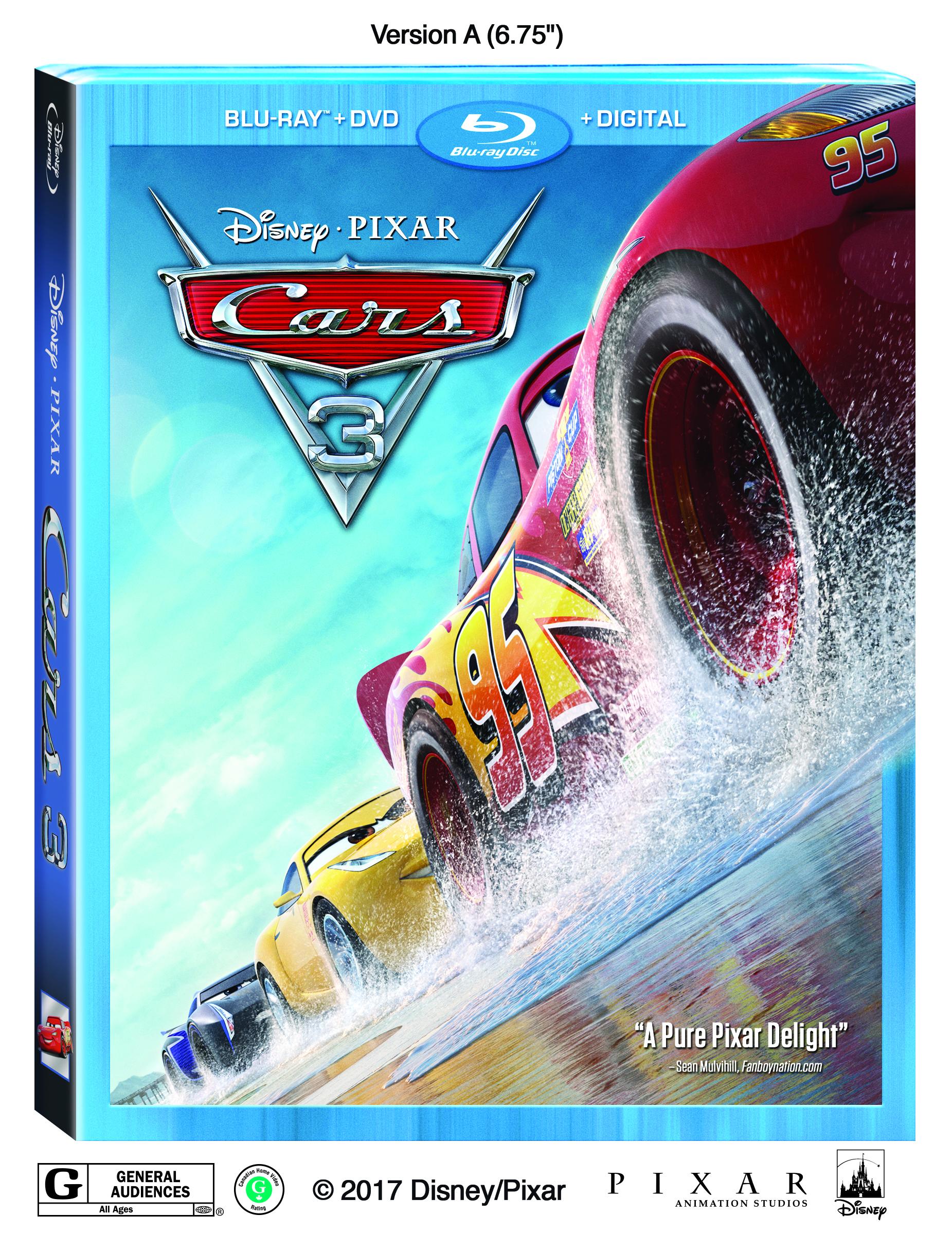 Lightning Strikes Again When Disney Pixar S Cars 3 Cruises Home