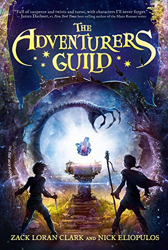 "Disney Publishing's New Bestseller, ""The Adventurers Guild!"""