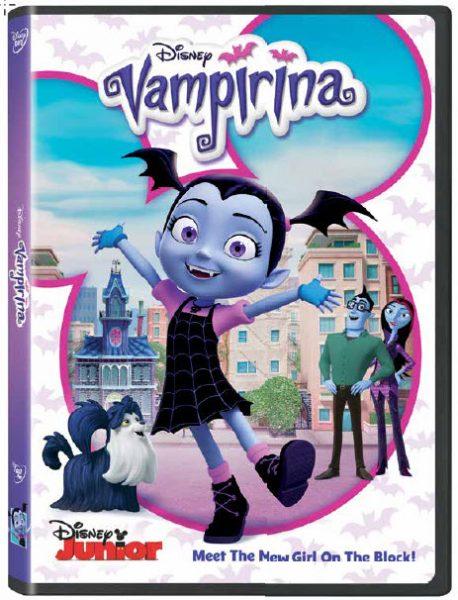 Giveaway - Disney Junior's Vampirina DVD!