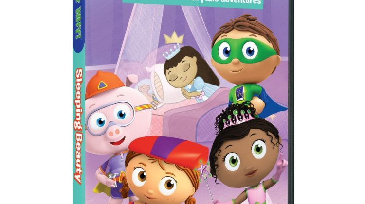 """Giveaway – @PBSKids """"Super WHY!: SLEEPING BEAUTY AND OTHER FAIRYTALE ADVENTURES"""" DVD!"""