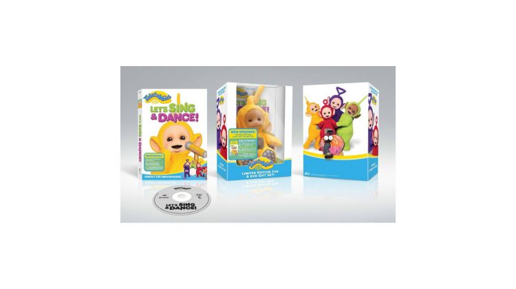 Giveaway – Teletubbies: Let's Sing and Dance DVD w/ Laa-Laa Plush! #teletubbies
