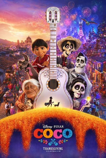 Pixar Animation Studios' Coco is Beautiful! A Must See Movie!