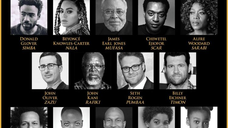 "See All ""The Lion King"" Live Action Casting Now! #TheLionKing"