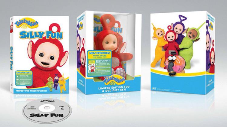 Giveaway – Teletubbies: Silly Fun DVD w/ Po Plush! #teletubbies