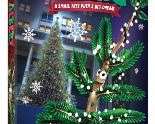 Giveaway – @NickelodeonDVD's Albert: A Small Tree with a Big Dream DVD! With A Golden Book Bonus!