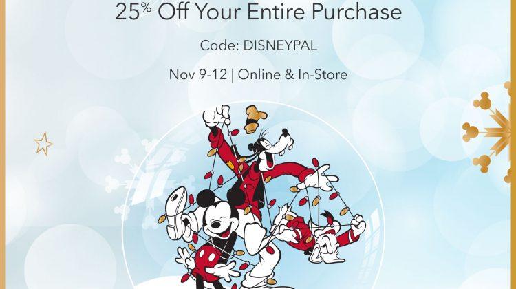 Hurry! 25% Off Disney Coupon! Ends Sunday Night!